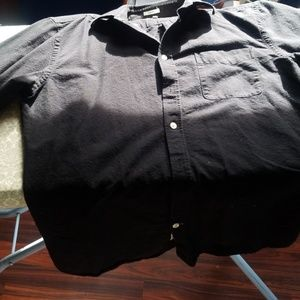 Frank & Oak Black Men's Button Down